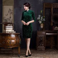 aliexpress com buy new short velvet wedding gowns vintage