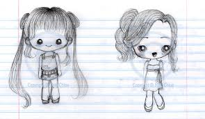 two chibi sketches by tsukarii on deviantart