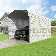 classic carport 3 sided 12 x 20 x 10