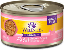 wellness complete health kitten formula grain free canned cat food