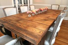 Pottery Barn Dining Room Tables Farm Wood Dining Table U2013 Rhawker Design
