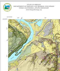 Oregon City Oregon Map by Willamette Falls