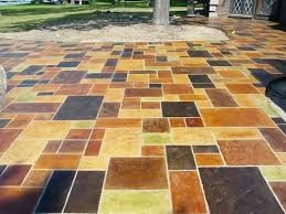 patio painting concrete patio youtube i want to faux tile my