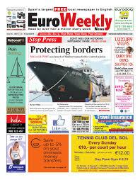 lexus amanda edad euro weekly news costa del sol 4 10 june 2015 issue 1561 by