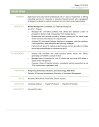 Management Consulting Resume Examples by Wealth Management Consultant Cv Ctgoodjobs Powered By Career Times