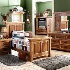 lea furniture jackson creek twin size loft bed rustic bunk bed