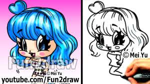 cute halloween drawings katy perry chibi drawing tutorial super cute u0026 fun popular
