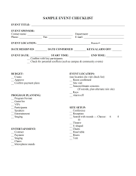 event proposal template word simple checklist template trade
