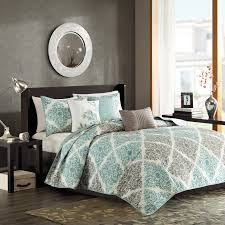 Madison Park Bedding Samara Bali 6 Piece Quilted Coverlet Set By Madison Park Hayneedle