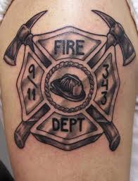 fireman helmet tattoo flash pictures to pin on pinterest tattooskid