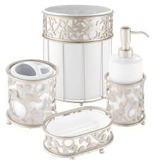 interdesign vine white and satin bath accessories altmeyer u0027s