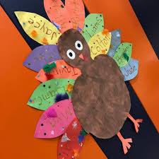 thanksgiving becomes a lesson plan for galion students
