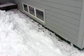 basement waterproofing and melting snow what you need to know
