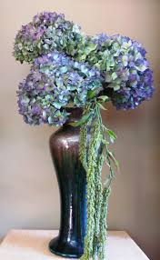 Vases With Fake Flowers Flower Arranging With Hydrangeas My Sweet Cottage