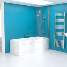 a9e7d3e66be024d8d4990ca21e199708 jpg right hand p shaped shower bath 1700mm with side panel