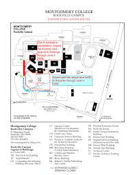 Montgomery Mall Map Montgomery College Rockville Campus Map My Blog