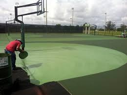 asphalt backyard basketball court cost home outdoor decoration