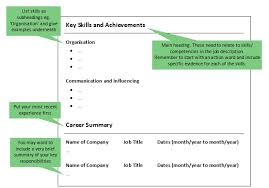 Types Of Skills To Put On A Resume Cvs Cvs Cvs Cover Letters U0026 Application Forms Careers