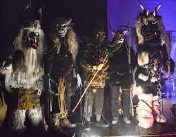Krampus Halloween Costume Spooky Vegan Merry Krampusnacht