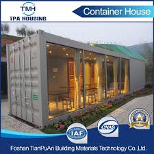 china modern design prefabricated shipping container homes for