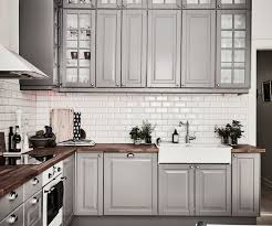 ikea grey kitchen cabinets the most stylish gray kitchen cabinets with regard to home