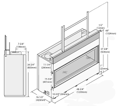 Fireplace Insert Dimensions by 4415 Ho Gsr2 Discount Stove U0026 Fireplace