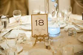 gold wedding table numbers dining room decorations table number holders gold wedding table