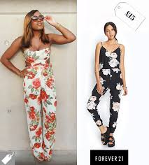 forever 21 jumpsuits come up roses with forever 21 s pretty jumpsuit today i m wearing