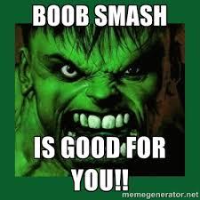 Mammogram Meme - hulk smash