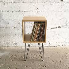 Record Player Storage Free Shipping Grogg Vinyl Unit Hairpin Legs Record Player