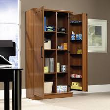 Sauder Bookcases sauder homeplus swing out storage cabinet hayneedle