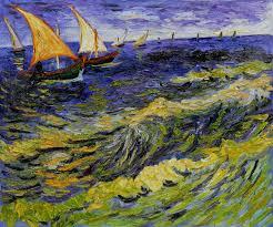 seascape at saintes maries de la mer by vincent van gogh pb 064