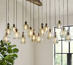 Pottery Barn Dining Room Lighting by Pendant Lighting Pottery Barn