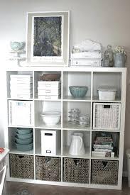 white storage shelf with baskets unit shelving basket storage