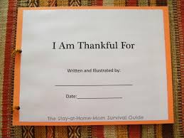 i am thankful book for children to make the stay at home mom