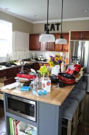gaining kitchen storage from thrifty decor