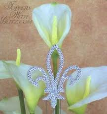 fleur de lis cake topper fleur de lis cake topper products i specialty