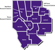 Map Of Parishes In Louisiana by Northwest