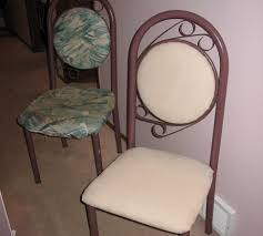 recovering kitchen chairs 5 steps