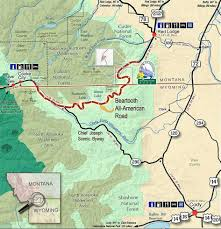 New Mexico Road Closures Map by Beartooth Highway