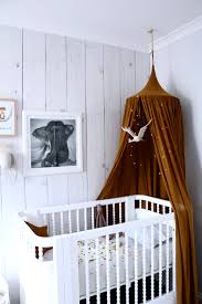 Gold Numero 74 Canopy Incy Interiors Vintage Inspired Georgia Cot