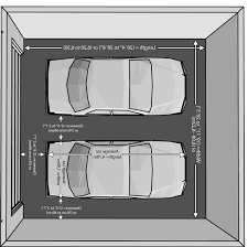 Garage Dimensions Design Two Car Garage Dimensions Dimensions Of A Queen Size Bed