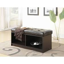 Padded Storage Ottoman Coffee Tables Appealing Coffee Table Round Tufted Ottoman