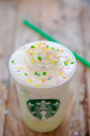 starbucks birthday cake frappuccino secret menu gemma u0027s bigger