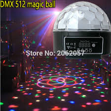 led disco ball light 18w led disco ball light dmx512 control dj music ball stage effect