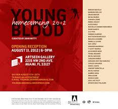 young blood nwsa u0027s visual arts annual alumni exhibition miami fl