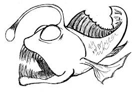animal fish coloring pages deep sea fish fish coloring pages animals
