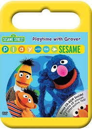 playtime with grover play with me sesame sesame on