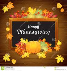 happy thanksgiving card stock vector illustration of autumnal