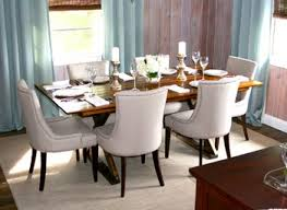 Best Fabric For Dining Room Chairs Dining Tables Contemporary Fabric White Parson Chairs For Full